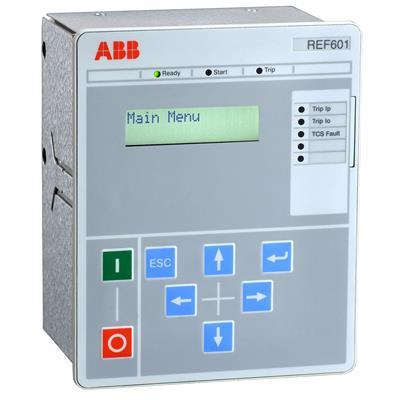REF601 is a feeder protection relay for protection and